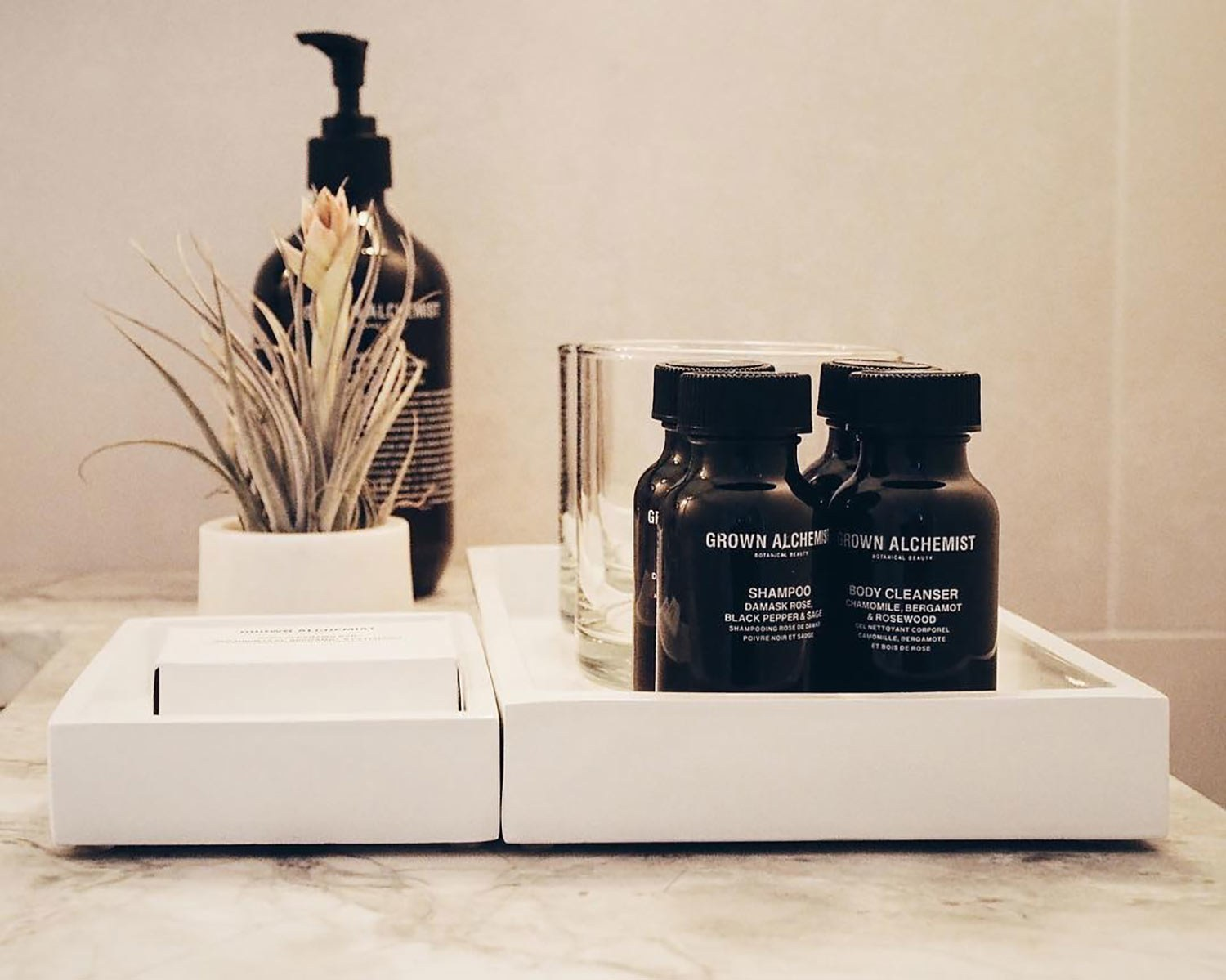 Spa & hotel amenities