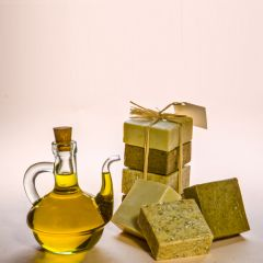 Four pieces of square shaped Soaps