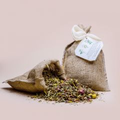 Herbal Relaxation Bath 11 herbs plus a bag of linen