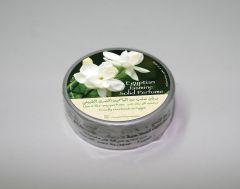 Natural jasmine perfumed body cream with oiland wax.