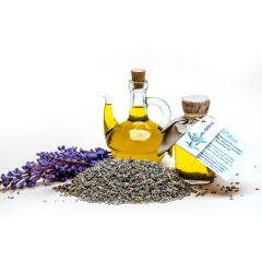 Sweet Almond oil & Lavender oil