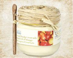 Body Cream With Essential Oil of Mango