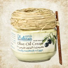 Olive oil cream for dry skin after sun