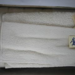 Towel Box contains a big 100% natural untreated cotton bath towel 150x100, and 30 x 50 towel, and 30X30 towel
