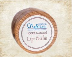 Nefertari 100 % Natural Lip Balm in wood box