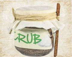 Salt, Jojoba & Sandal wood scrub