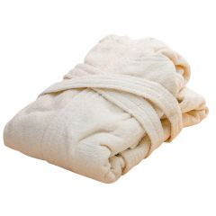 Bath Robe from organically cultivated cotton