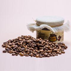 Coffee beans scrub