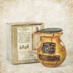 Pharaonic container filled with 50 ml Nefertari Liquid Soap