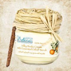 Silky body cream with essential oil of neroli 175 gm