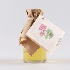 Sweet Almond Oil & Geranium oil