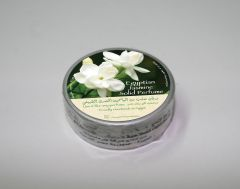 Natural jasmine perfumed body cream with oil and wax.