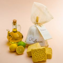 Olive Oil and Lemon Peel Soap