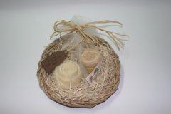 Small Palm Basket x2