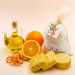Olive Oil and Orange Peel soap