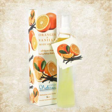 Orange and Vanilla Body Splash