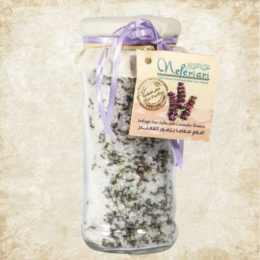 Safaga Red Sea Salt with Lavender