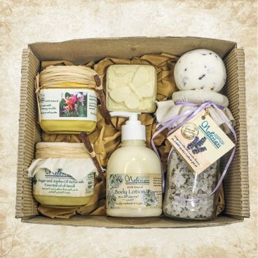 At Home SPA Lavender Box