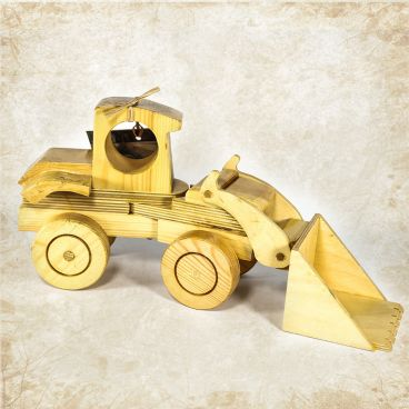 Wooden loader toy