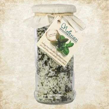 Safaga Red Sea Salt with Peppermint