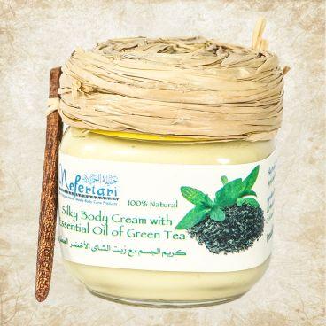 Body Cream With Essential Oils Of Green Tea