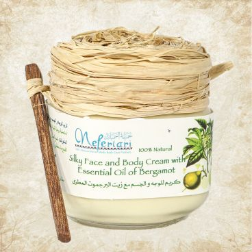 Body Cream with Essential oil of Bergamot