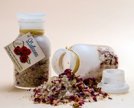 Safaga Red Sea Salt with Rose