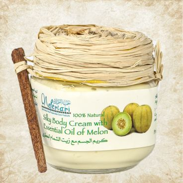 Silky body cream with essential oil of melon 175 gm