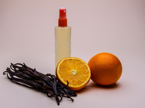 Orange and Vanilla Body Splash