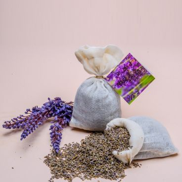 Lavender Bath Bag