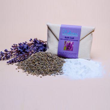 Safaga Salts with Lanvender in Envelope