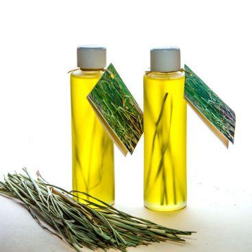 Sweet Almond oil & Lemon Grass oil